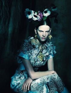 VOGUE ITALIA Saskia de Brauw in In The Couture Mood by Paolo Roversi. Julien D'Ys, March 2014, www.imageamplified.com, Image Amplified (2)