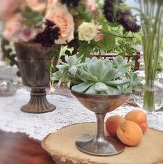 The Table Decor (bohemian wedding from La Rosa Canina)