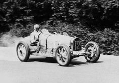 Bugatti Type 51, Chiron car Francorchamps Grand Prix 1931. Speed ​​Compressor hole is lower than the 35 B.