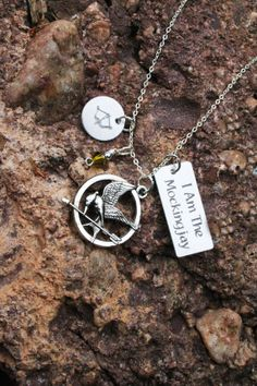 Personalized Hunger Games necklace