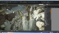 Cryengine 3 Tutorial 16 Create a Waterfall (VendettaCry)
