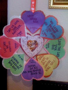 Spreading the Love of God is the spirit of St. Valentine's Day!      Here is a Christian craft to decorate your home, classroom or home a...
