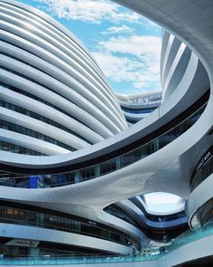 Galaxy Soho by Zaha Hadid Architects The shape of this shopping centre is just unreal!
