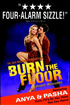 Burn the Floor - saw this last year at the Pantages
