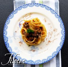 Chestnuts Fettuccine with chicken livers ragù and orange