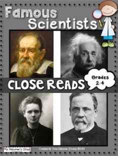 Famous Scientists Close Reads