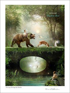 Fairies Art Photography' The way through by CharlotteBirdfairies