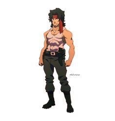 Rambo by Michael Anderson, via Behance Robot Illustration, Character Illustration, Cartoon Styles, Cartoon Art, 80s Characters, Manga Anime, Silvester Stallone, Superhero Cartoon, John Rambo