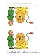 Daniel in the Lion's Den Story Sticks