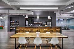 Découvrez les superbes bureaux de Criteo à #NewYork City, #workplace #mobilier #office