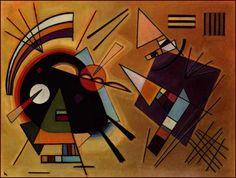 Wassily Kandinsky, Black and Violet, 1924