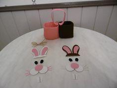 Panier de Pâques lapins