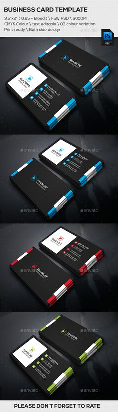 System Business Card - Business Cards Print Templates