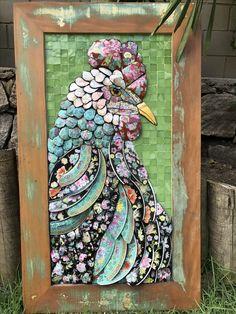 Galo mosaico Picassiette