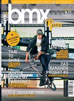 Peru United! - Camilo Gutierrez Rodriguez Interview. Gefunden in: bmx Rider Magazine, Nr. 3/2015