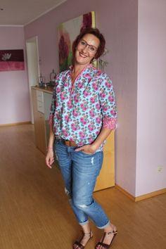 lillesol & pelle Schnittmuster / pattern: Blusenshirt / Blouse