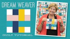 Jenny demonstrates how to create the look of a woven block using 2.5 inch strips of precut fabric. (She used Wild Nectar Jelly Roll by Crystal Manning for Moda Fabrics, but any printed jelly roll would work!) Learn how to add sashing with cornerstones to your blocks.