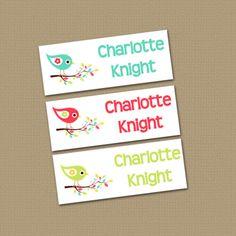 Estas etiquetas engomadas de la etiqueta impermeable son justo lo que necesita para mantenerse al día con de todos su poco uno cosas!! Estos también hacen un gran regalo para cualquier mamá nueva!  Sólo la cáscara y del palillo.  -------------------------------------------------------- Las etiquetas vienen en 2 colores diferentes y 2 tamaños diferentes. Por favor, elija su opción de salida...  60 etiquetas blancas - 1,75 x 0,666»   60 etiquetas claras - 1,75 x 0.666:   Etiquetas blancas 30…
