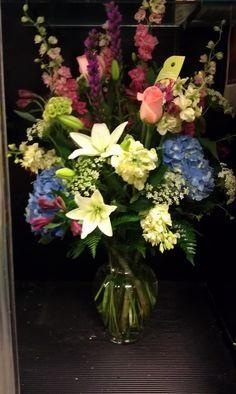 CHeer me up vase arrangement