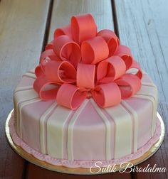 SÜTIK BIRODALMA: Masnis fondant torta