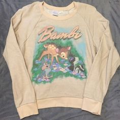 Disney Sweatshirt Bundle Super cute Disney sweat shirt bundle, they're both really comfortable! Forever 21 Sweaters