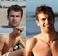 Candid pics of Theo at the beach Hot Men, Hot Guys, Famous Phrases, Divergent Series, Veronica Roth, Theo James, Handsome Guys, Shirtless Men, Celebrity Crush