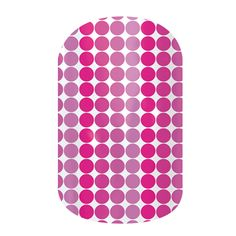 Ombre Polka  Buy 3 sheets of nail wraps and receive 4th FREE! Contact me for a free sample.  ashleydean.jamberrynails.net