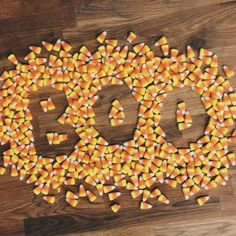 Fun and Creative Hand Crafted Lettering with Food by Becca Clason