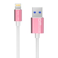 Free shipping DM APD009 MFI USB3.0 32GB 64GB usb flash drives and cable for iphone for ipad external storage usb flash disk