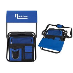 Cooler bag and chair. Simplify your summer with this bag. Gorilla Marketing, - Promotional products Riverside - Corporate gifts Riverside - Promotional Items Riverside - Promotional Ideas-Corporate Awards-Corporate Gift Ideas-Products