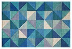 OKL Eggold Rug, blue $233 5x8