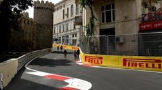 "Leading Formula 1 drivers have questioned the safety of the new Baku street circuit that will host Sunday's European Grand Prix.  Mercedes driver Nico Rosberg said parts of the track in the Azerbaijani capital were ""really not looking good"".  Button added that some corners ""don't have any run-off at all""."