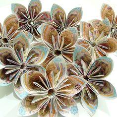 Origami flowers...