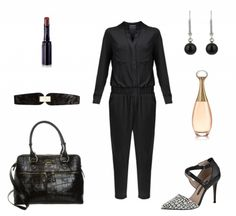 #Herbstoutfit Black loves Black ♥ #outfit #Damenoutfit #outfitdestages #dresslove