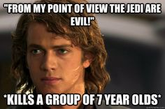 Scumbag Anakin Skywalker  // funny pictures - funny photos - funny images - funny pics - funny quotes - #lol #humor #funnypictures