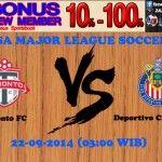 Prediksi Bola Toronto FC vs Deportivo Chivas USA 22-09-2014 USA MAJOR LEAGUE SOCCER