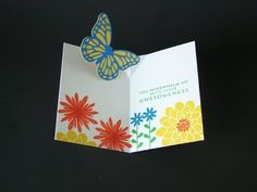 ▶ Easy Butterfly Pop Up Card - YouTube