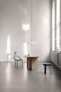 Gino Sarfatti Model No. 2065 Ceiling Light For Sale at minimalistisch Gino Sarfatti Model No. Interior Minimalista, Minimalist Interior, Minimalist Home, Dark Interiors, Home Living, Minimal Design, Interior Design Inspiration, Lighting Design, Lamp Design