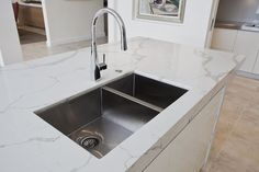 Newport Project: Undermount sink with insinkerator