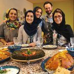 Two Iranian girls hold 'Food Tours' for foreign tourists