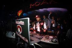 Nick Cannon Dines at Stack Restaurant & Bar Before Spinning the Night Away at 1Oak