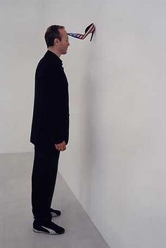 Erwin Wurm  one minute sculptures