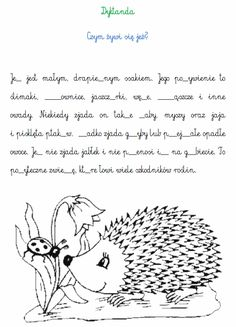 DYKTANDA | BLOG EDUKACYJNY DLA DZIECI Learn Polish, Polish Language, Our Kids, Kids Education, Kids And Parenting, Literacy, Coloring Pages, Homeschool, Classroom