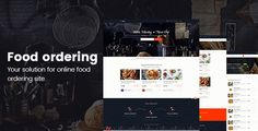 Online food ordering from local restaurants - Restaurants directory . FoodPicky – HTML Template best suitable for food ordering & delivery system like FoodPanda, JustEat, Zomato, Grubhub, Eat24Hours, delivery.com, DoorDash etc. Also it can be be used for single restaurant with few