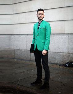 London Menswear: Street Style a/w 2014 | ELLE UK