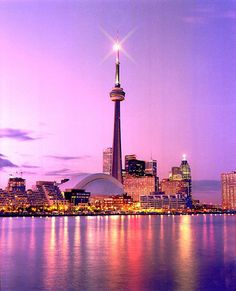 Toronto Harbourfront. A nice way to spend a warm evening is on one of these cruises.