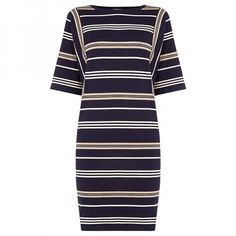 Stripe jumper dress, £41.25, Warehouse