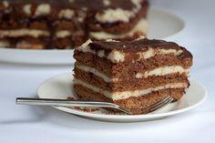 Csokis Marlenka: kávéházi süti házi változatban