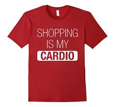 Men's Shopping Is My Cardio T-Shirt - Funny Shopaholic Te... http://www.amazon.com/dp/B01FETKA1U/ref=cm_sw_r_pi_dp_OMLmxb0PXF1S6