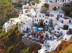 Santorini, Greece.  On the list for when I visit the lovely luptons.